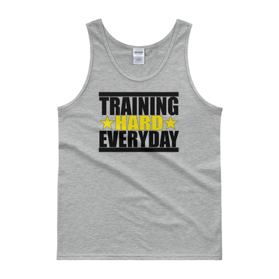 Train Hard Everyday Mens Tank top,  - Sarx Clothing