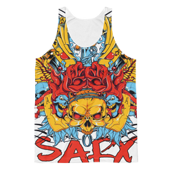 All Over (SarX Skull) Classic Fit Tank Top,  - Sarx Clothing