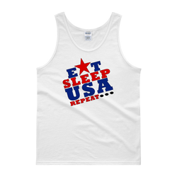 Eat, Sleep USA (Mens)Tank top,  - Sarx Clothing