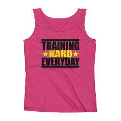 Training Hard Everyday Ladies' Tank,  - Sarx Clothing