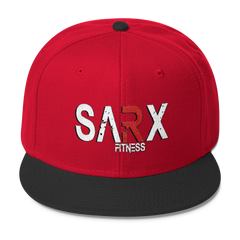 SarX(red) Wool Blend Snapback,  - Sarx Clothing