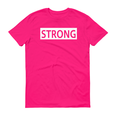 Strong Fitness Short sleeve t-shirt,  - Sarx Clothing
