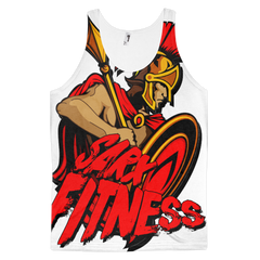 All Over SarX Spartan Classic fit tank top Mens,  - Sarx Clothing