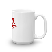SarX red Swoosh Mug,  - Sarx Clothing