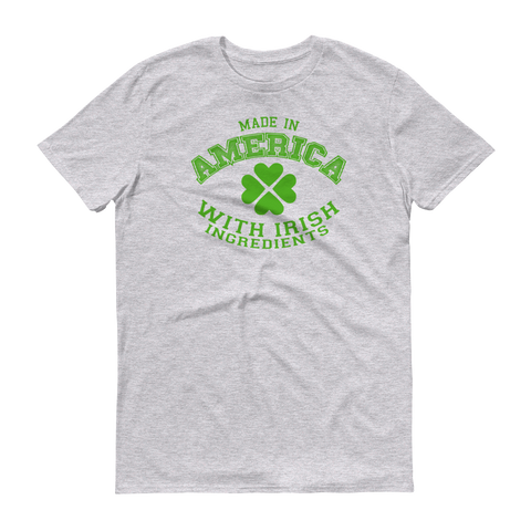 American Irish Short sleeve t-shirt,  - Sarx Clothing