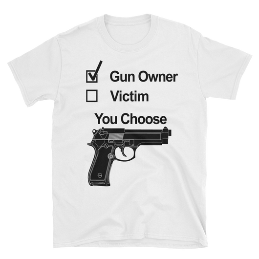 Gun owner/Victim,  - Sarx Clothing