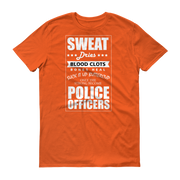 Support your Police Short sleeve t-shirt,  - Sarx Clothing