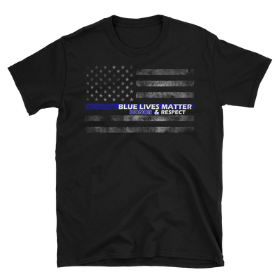 BLM (Honor & Respect) T-Shirt,  - Sarx Clothing