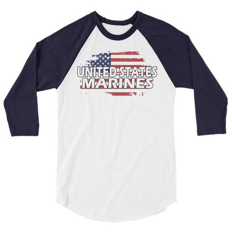 George U.S. 3/4 sleeve raglan shirt,  - Sarx Clothing
