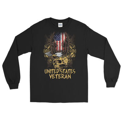 U.S. Veteran Long Sleeve T-Shirt,  - Sarx Clothing
