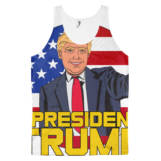 All Over Trump Classic fit tank top Men,  - Sarx Clothing