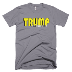 President Trump Short sleeve men's t-shirt,  - Sarx Clothing