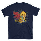 SarX American Fitness (Skull Wings) Unisex T-Shirt,  - Sarx Clothing