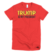 My President Short sleeve women's t-shirt,  - Sarx Clothing