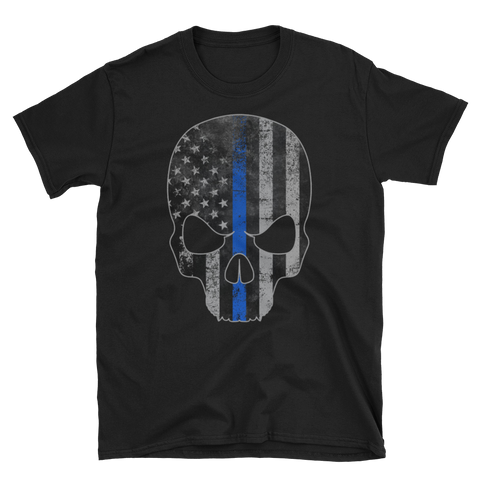 Skull Blue Lives,  - Sarx Clothing