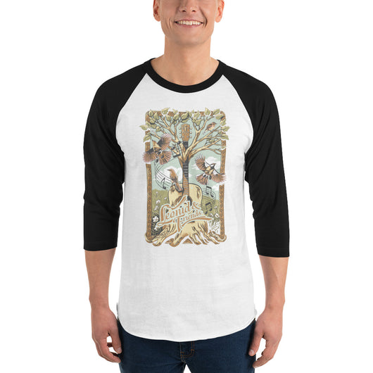 LnF Tree 3/4 sleeve raglan shirt,  - Sarx Clothing