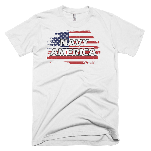 Navy Short sleeve men's t-shirt,  - Sarx Clothing