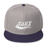 SarX Swoosh Wool Blend Snapback,  - Sarx Clothing