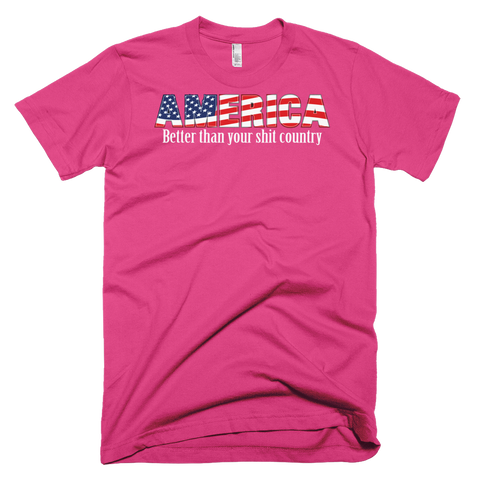 Better America Short sleeve men's t-shirt,  - Sarx Clothing