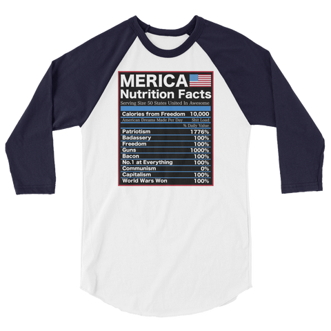 Murcia Nutrition Facts Long Sleeve,  - Sarx Clothing