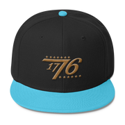 American 1776 Wool Blend Snapback,  - Sarx Clothing