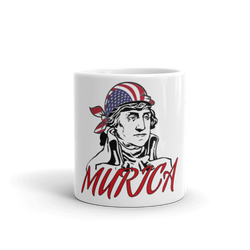 Washington MURICA Mug - Sarx Clothing