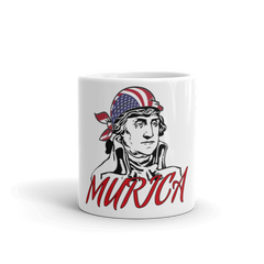 Washington MURICA Mug,  - Sarx Clothing