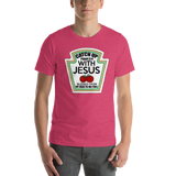 Jesus Tomato label,  - Sarx Clothing