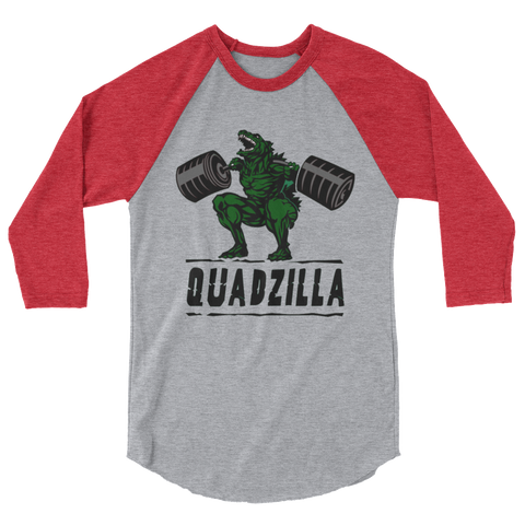 Quadzilla 3/4 sleeve raglan shirt,  - Sarx Clothing