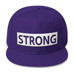 Strong Wool Blend Snapback,  - Sarx Clothing