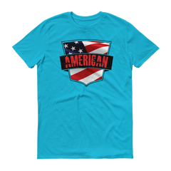 American Badge Short sleeve t-shirt,  - Sarx Clothing