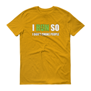 I Run because Short sleeve t-shirt,  - Sarx Clothing