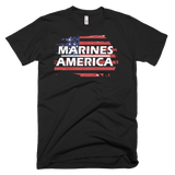 Marines Short sleeve men's t-shirt,  - Sarx Clothing