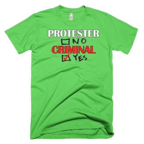 Protester Short sleeve men's t-shirt,  - Sarx Clothing
