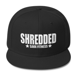 Shredded Wool Blend Snapback,  - Sarx Clothing