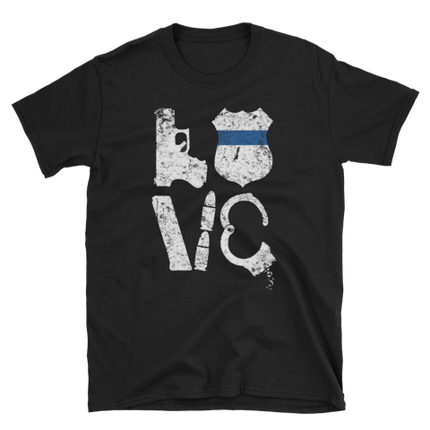 LOVE (Blue lives),  - Sarx Clothing
