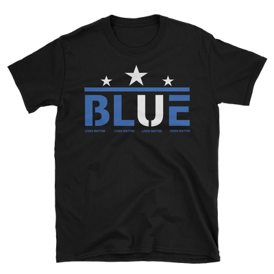 Blue Lives Matter (Star),  - Sarx Clothing