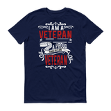 Proud American Vet Short sleeve t-shirt,  - Sarx Clothing
