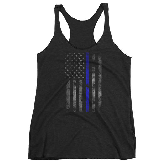 Blue Lives Matters Women's tank top,  - Sarx Clothing