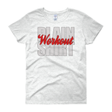Plain Workout Women's short sleeve t-shirt,  - Sarx Clothing