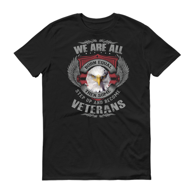 We are born Veterans Short sleeve t-shirt,  - Sarx Clothing