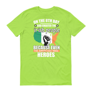 Irish Heroes Short sleeve t-shirt,  - Sarx Clothing