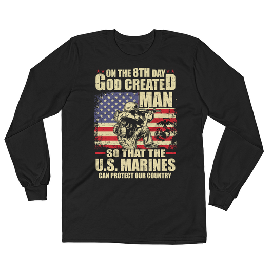 Marines Protecting Long Sleeve T-Shirt,  - Sarx Clothing