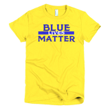 Blue Lives Short sleeve women's t-shirt,  - Sarx Clothing