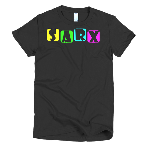 Sarx Color Short sleeve women's t-shirt,  - Sarx Clothing