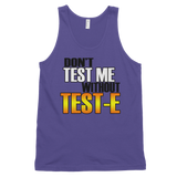 No Test Classic tank top (unisex),  - Sarx Clothing