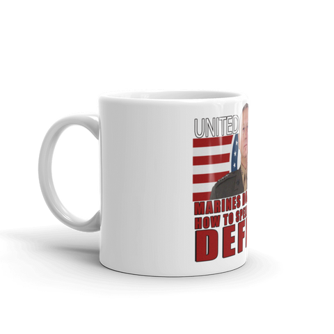 General Mattis (Marines) Mug,  - Sarx Clothing