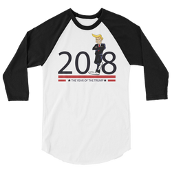 Year of the Trump long sleeve raglan shirt