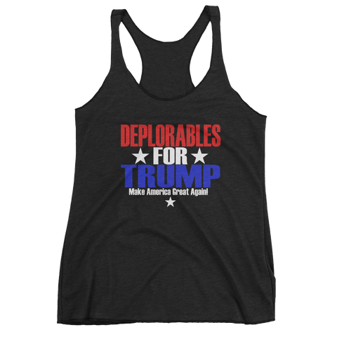 Deplorables for Trump Women's tank top,  - Sarx Clothing