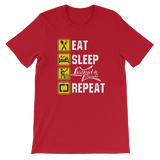 Eat, Sleep Leonid and Friends Repeat,  - Sarx Clothing
